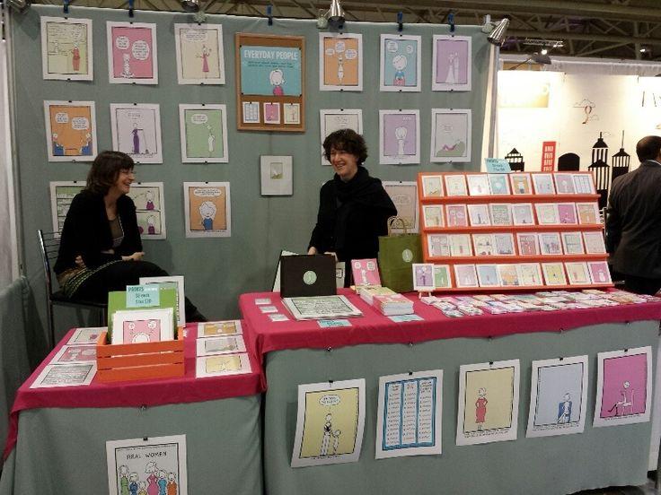 Taking a break at the Inspire Book Fair, 2014