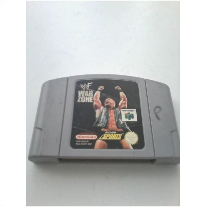 WWF War Zone - Nintendo 64 ( N64 ) Game