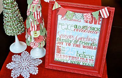 printable site...Free Printable Christmas Subway Art