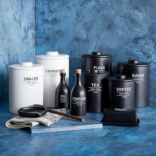 Utility Oil + Vinegar Set - Black | west elm $46+