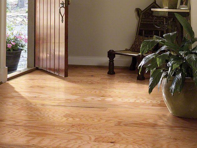 Shaw Heartland Danner Rustic Natural Wood Floor New Home