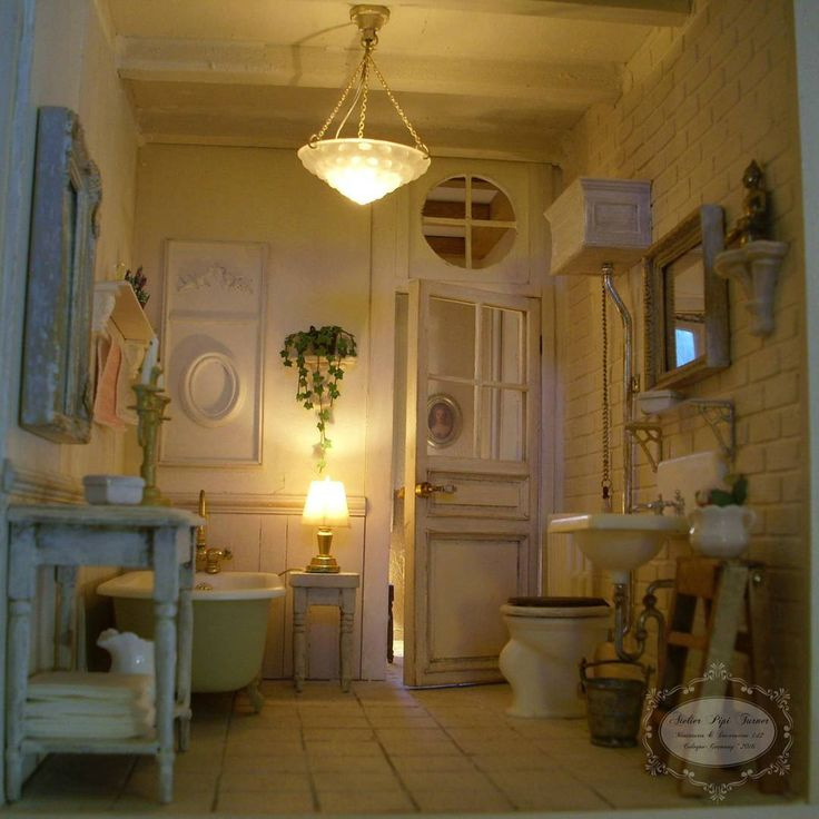 1591 best drawing a bath mini bathrooms ideas images on pinterest doll houses dollhouses. Black Bedroom Furniture Sets. Home Design Ideas