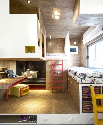 Kinderkamer ontwerp door een architect