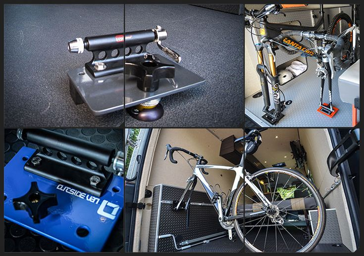 28 Best Bicycle Mounts In Campervan Conversions Images On