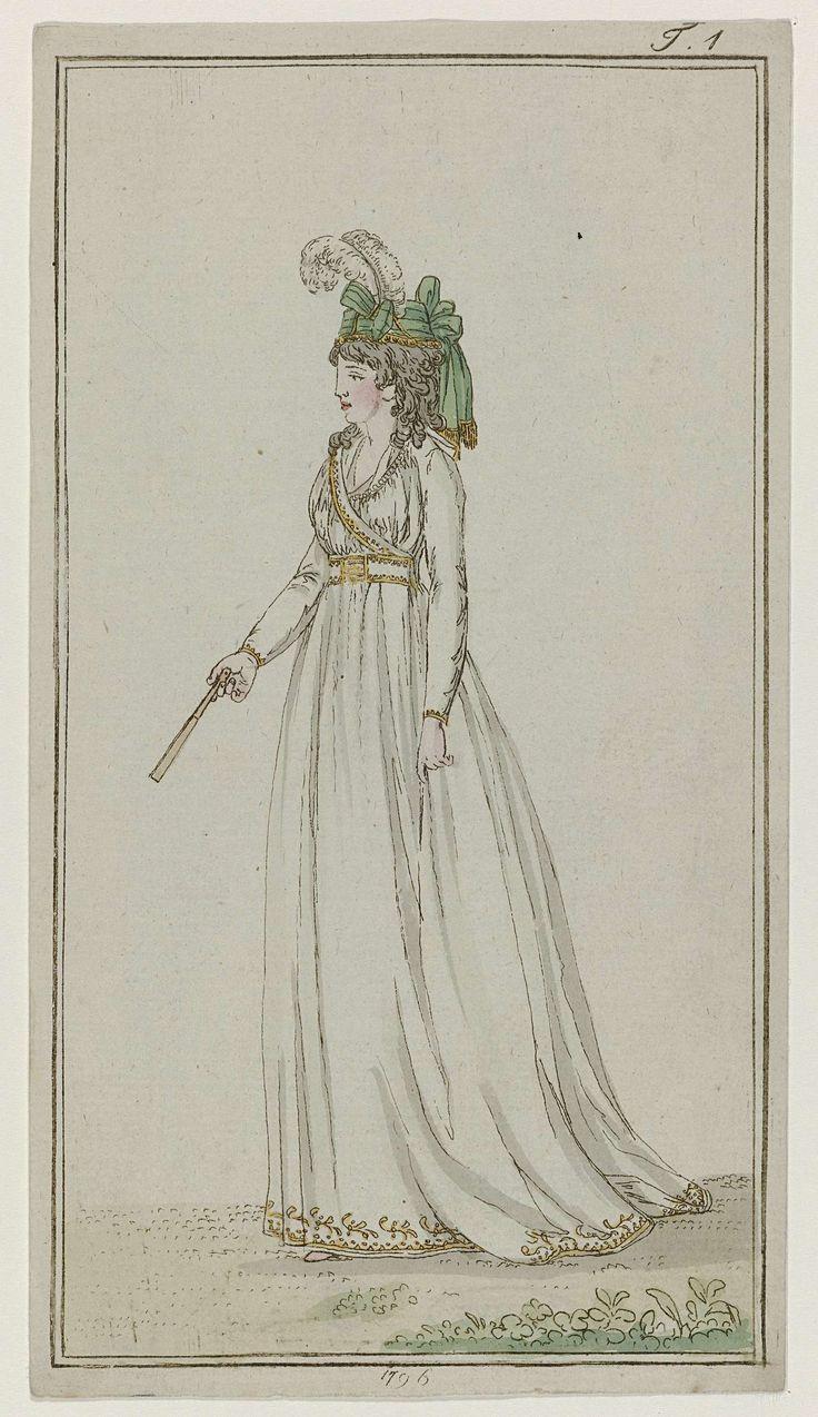 Journal des Luxus und der Moden, 1796, T 1, Georg Melchior Kraus, 1796