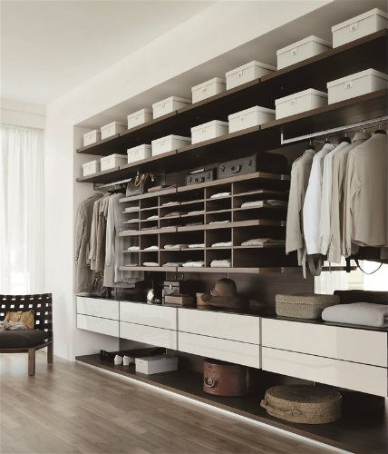 The ritual of dressing or applying make-up and a dash of perfume, are essential to get into the right mindset. Today, we present you luxurious closets ideas for your master bedroom design | http://masterbedroomideas.eu