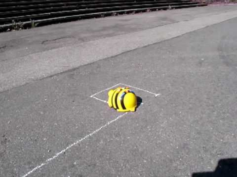Bee Bot idea: I like this one. Get students to use a Bee Bot ruler to measure and draw with chalk a pathway for a bee bot. Then program and record the Bee Bots movement.