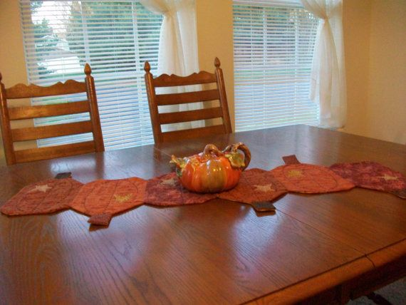 Thanksgiving Pumpkin Table Runner