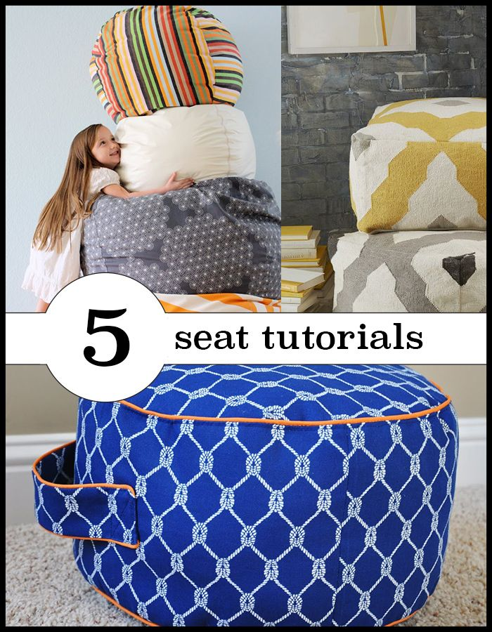 5 amazing seats to sew for your home. You must see these!