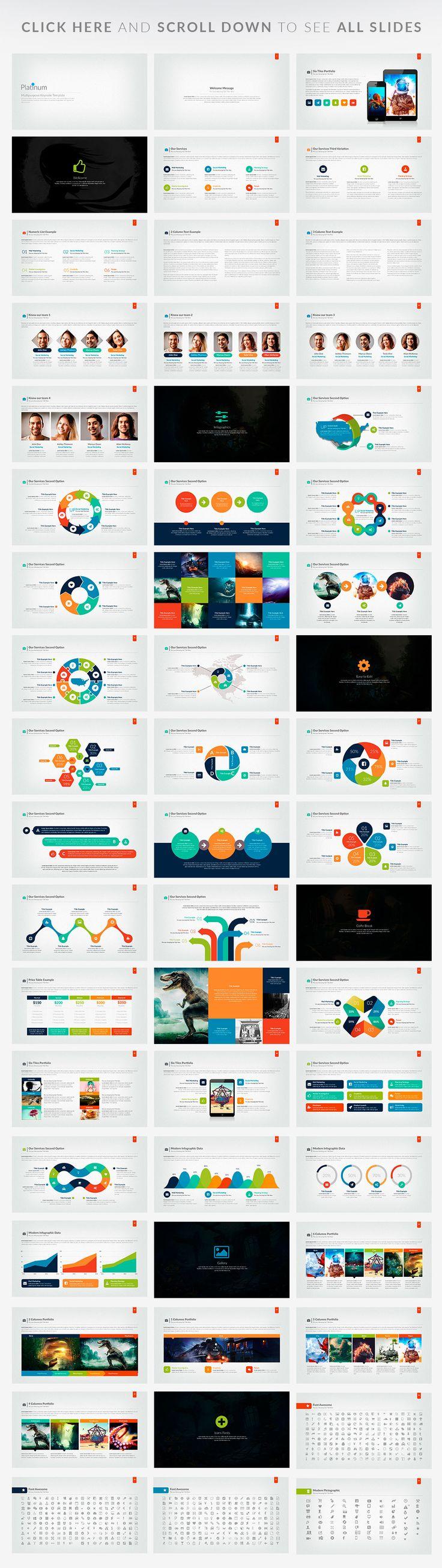 Platinun | Powerpoint Presentation by Zacomic Studios on Creative Market