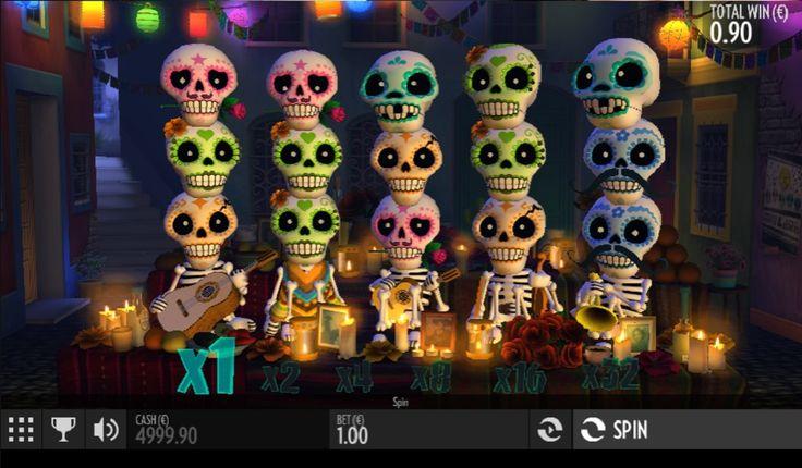 Gra online Esqueleto Esplosivo - Gra online Esqueleto Esplosivo celebruje Meksykański Dzień Zmarłych.  #JednorekiBandyta #AutomatyDoGry #SlotoweGry #Jackpot #EsqueletoEsplosivo - http://www.polskie-kasyno-internetowe.com/gry/gra-online-esqueleto-esplosivo