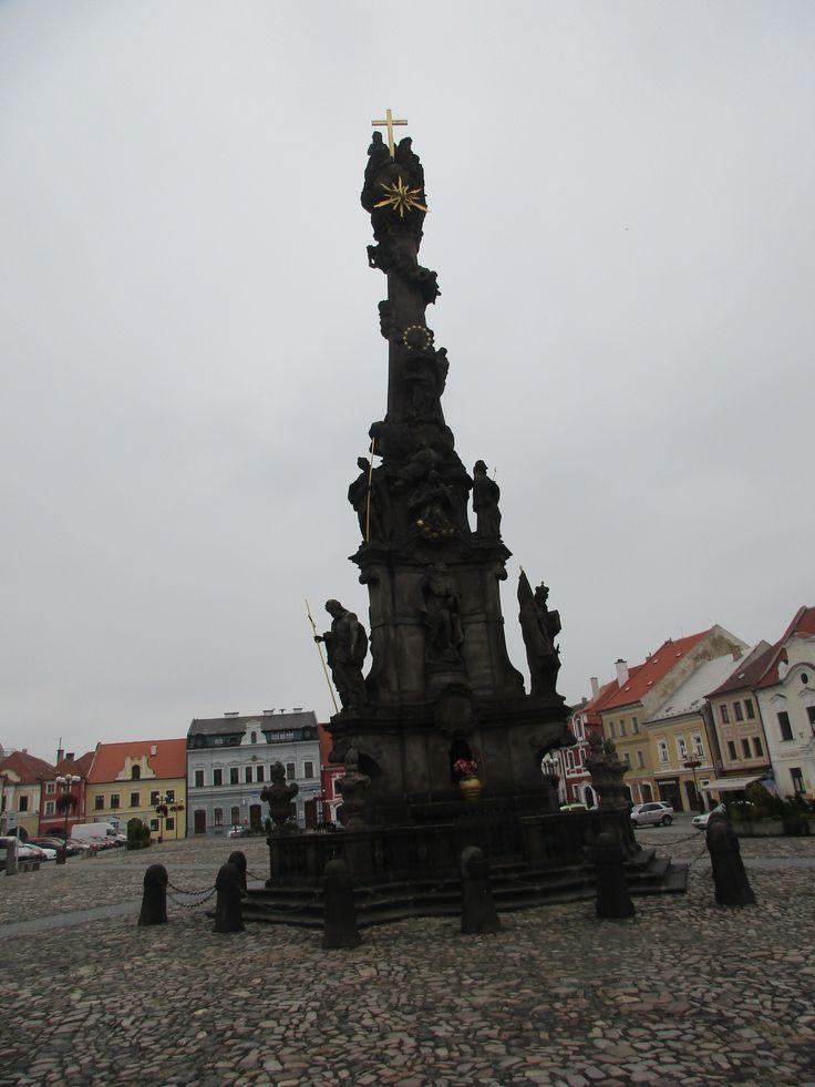 Sloup Nejsvětější Trojice - baroko - r. 1752 - Kadaň - Česko