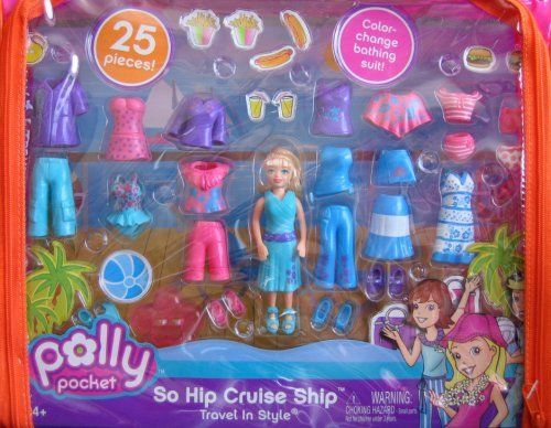 Polly Pocket Travel In Style So Hip Cruise Ship 25 Pce. Playset (2006) by Mattel. $49.99