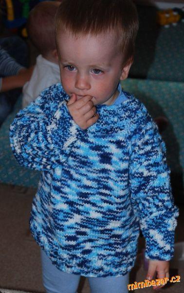 Raglánový svetr pro batolata