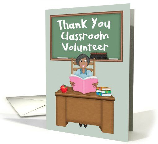 Thank You Classroom Volunteer-Female-African...