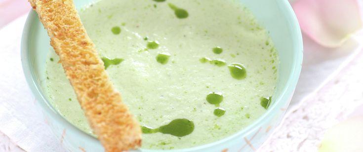 Kald kremet agurksuppe | FRUKT.no