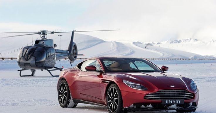 Η Aston Martin DB11 λιώνει τα χιόνια στη Νέα Ζηλανδία (Video)