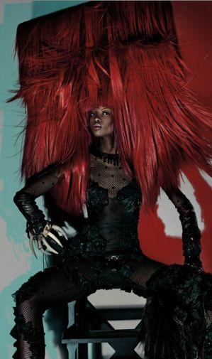 Haar styling - Charlie Le Mindu
