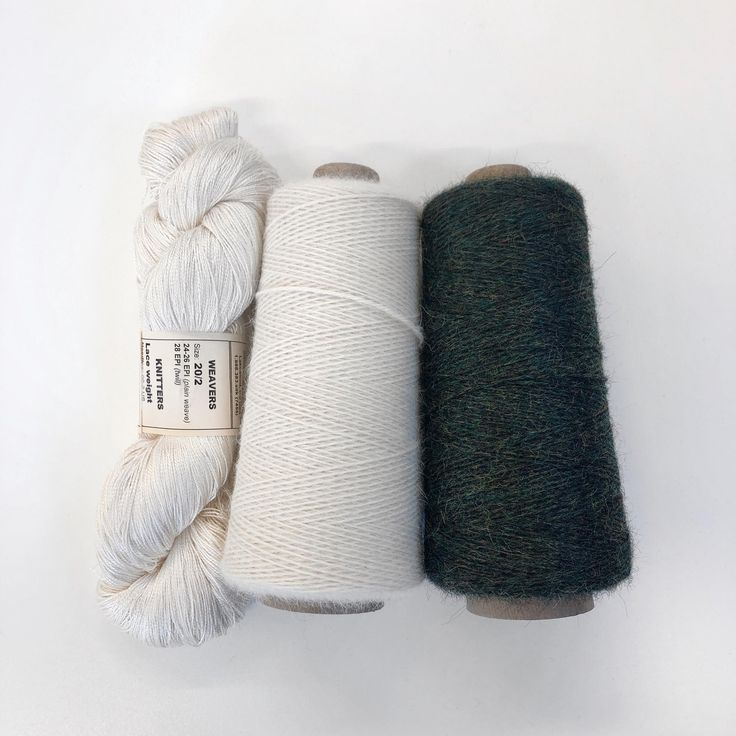 Clasped Weft Scarf Kit ~ Philodendron – #Clasped #…