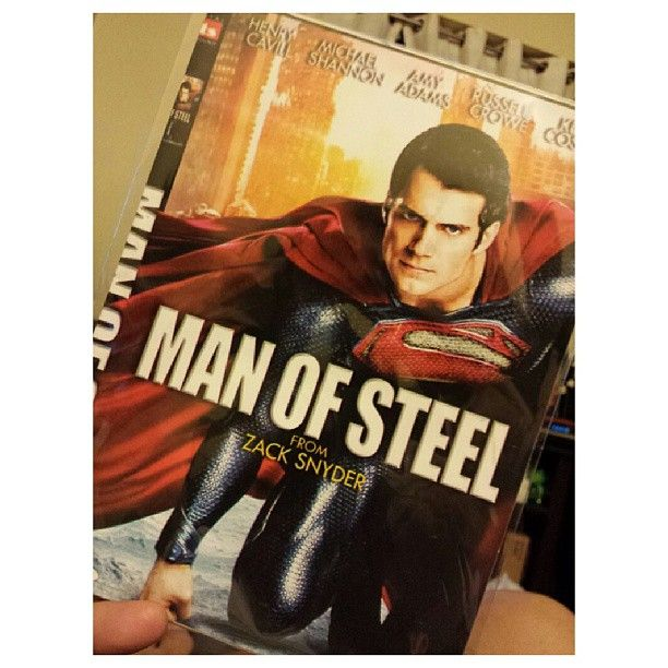 #manofsteel tonight #dvd #movie #philippines 今晩はこれ。 #映画 #フィリピン #superman #スーパーマン