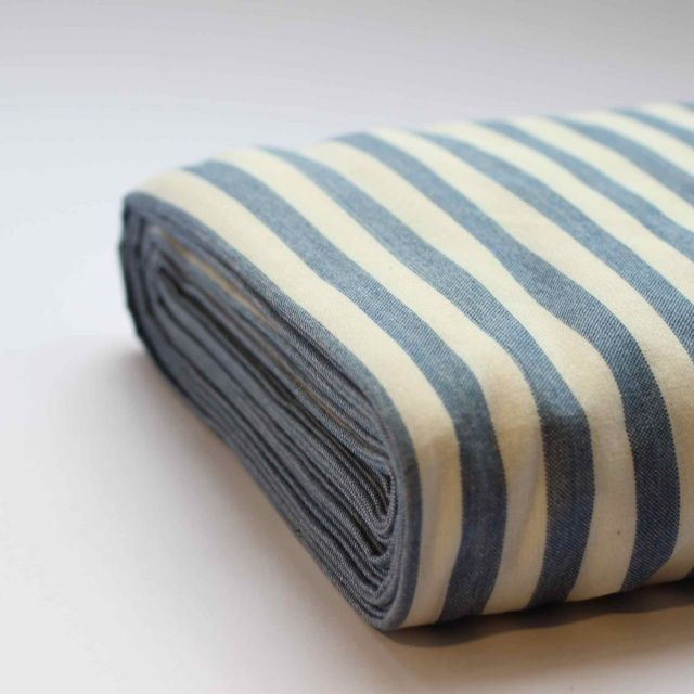 Lovely organic stripped fabric