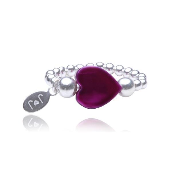 Lola Pink Heart Ring