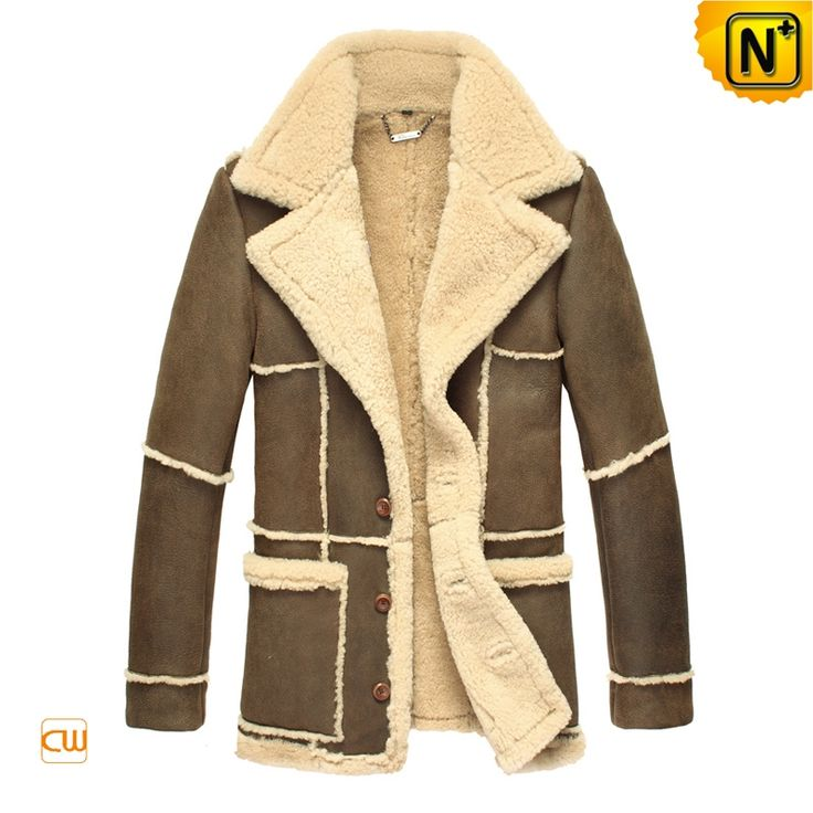 209 best Mens Shearling Coats images on Pinterest | Leather ...