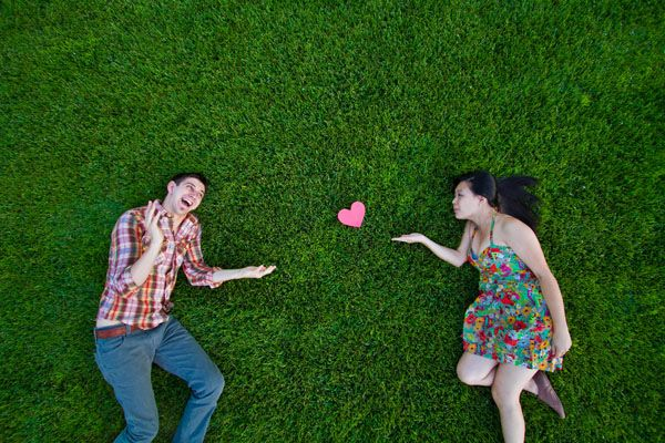 quirky engagement session. Photo by Michelle Chiu Photography.
