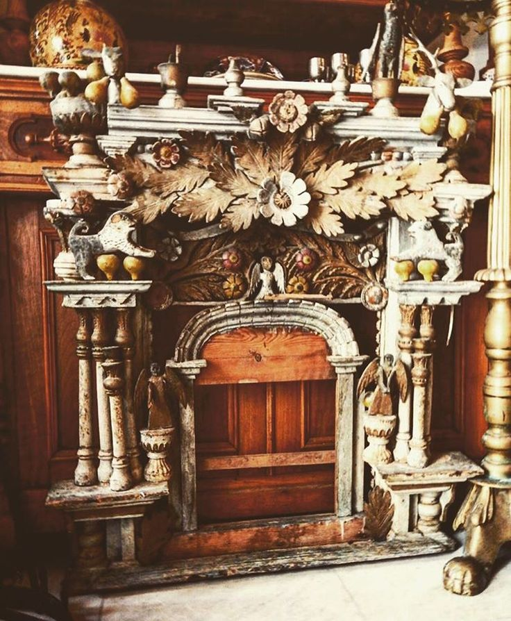 handmade very old wooden temple. a christianic artwork