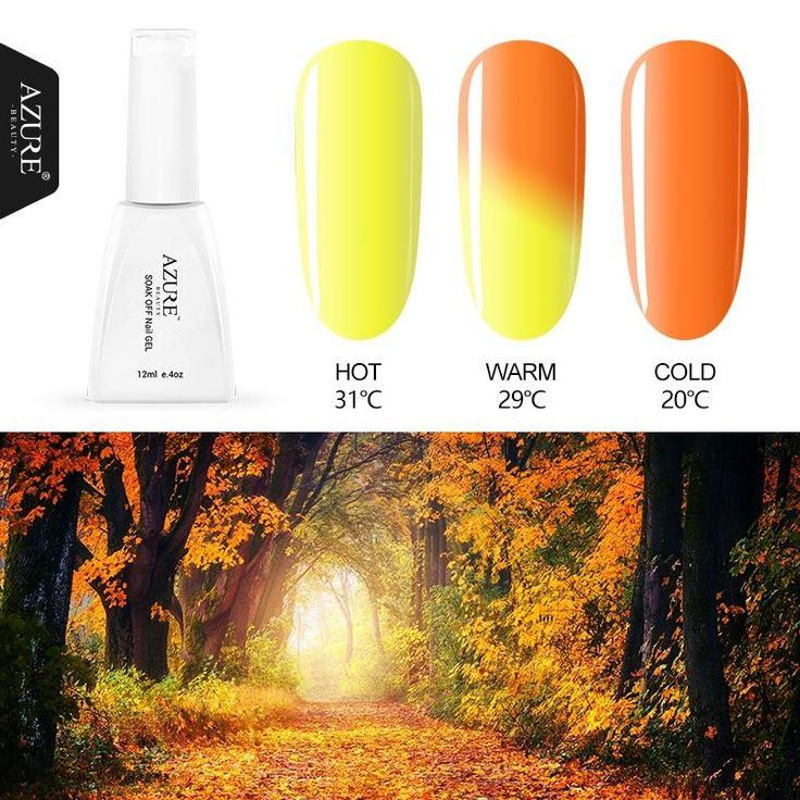 Azure Beauty 42 Colors Thermal Temperature Change Color Nail Gel Polish Soak Off UV Chameleon Gel Led Nail Polish Gel Lacquer Item Type: Nail GelIngredient: ResinNET WT: 12mlQuantity: 1PCSModel Number: T01-T58Type: Gel PolishBrand Name: AZURE BEAUTYcolor: 30 colorsType: UV gel polishPackage: Box with good packgingCertification : MSDS/CE/SGSFeature : changing colorSmell: FlavorlessApplicable People : Nail Artister,Nail Art Lover,Beauty Lover,C