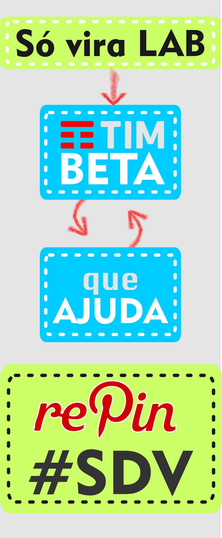 SIGO DE VOLTA #repin #sdv #beta #timbeta #add #lab #betalab