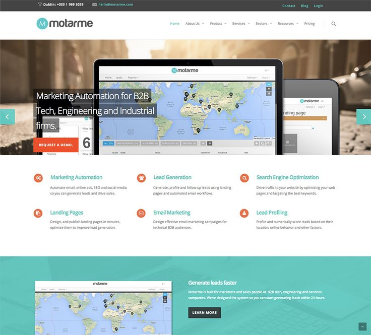 Motarme automates marketing for Business-to-Business (B2B) technology, industrial, engineering and services companies. The system helps B2B companies generate sales leads by automating marketing including email marketing, search engine optimization, online advertising and social media. Netguru was there from the start, working with Motarme to develop this lovely platform from the ground up. Apart from the entire back-end development, we're the guys behind design implementation and testing.
