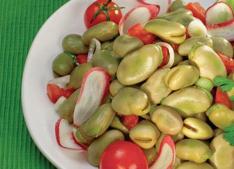 Recetas - ENSALADA DE HABAS VERDES - La primera red social de comida mexicana