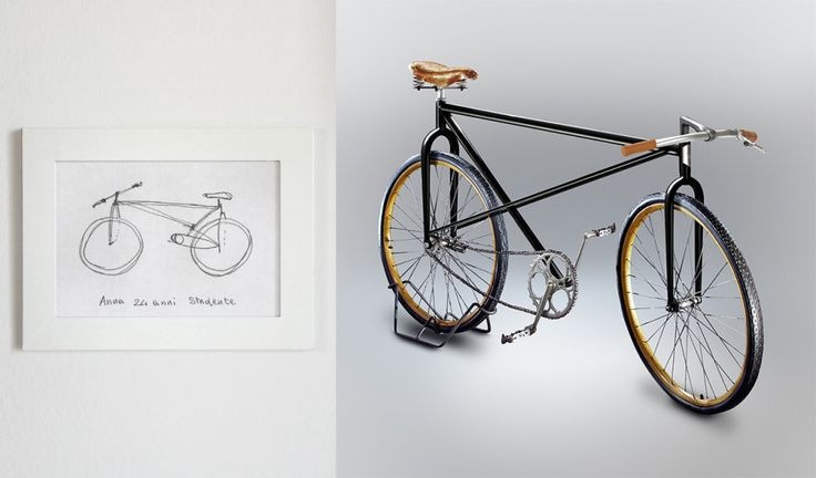 GO GRAB A pen and some paper and try this: Using only your memory, draw a bicycle. You have two minutes. https://www.behance.net/gallery/35437979/Velocipedia