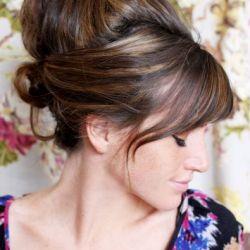 8 Amazing DIY Retro Hair Trends for Spring! (via A Beautiful Mess)