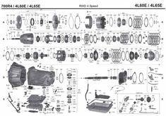 Pin on 4l60e transmission rebuild