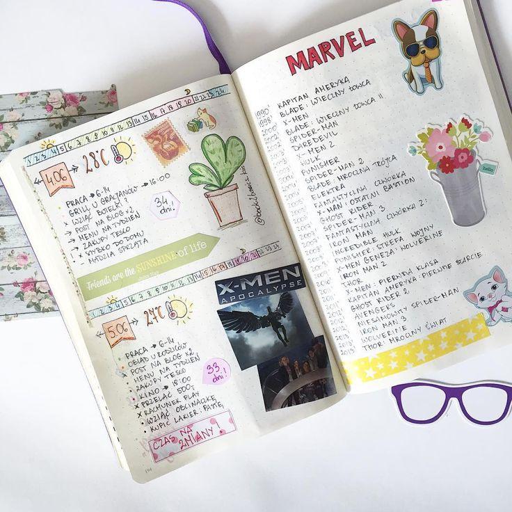 Bullet Journal - 60 pomysłów na listy
