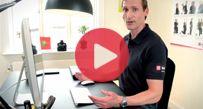 Video | Gode øvelser for din ryg - fokus på mave, lænd og lår - Falck