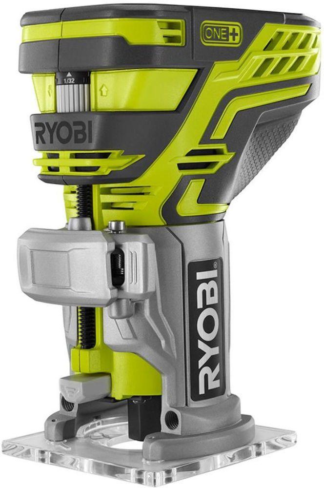 Ryobi 18-Volt ONE+ Trim Router Industrial Power Tool Equipment Set (Bare-Tool) #Ryobi #PowerTool #Tool #Equipment