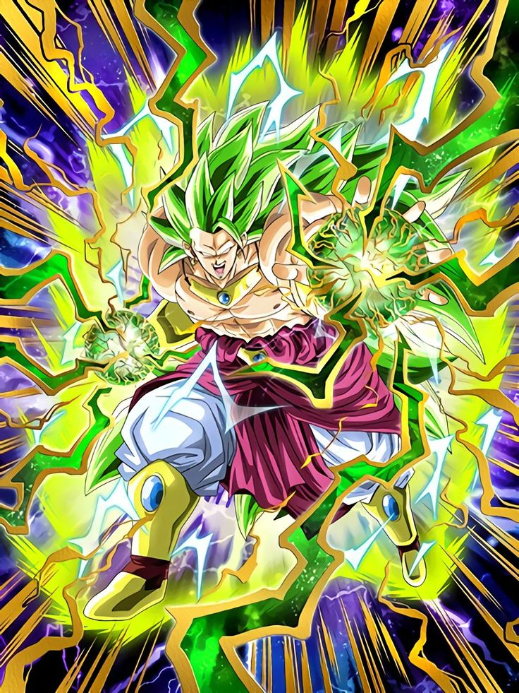 """[Super Evolution of Despair] Super Saiyan 3 Broly """"This place will be your grave...HAAAAAGH!!"""""""