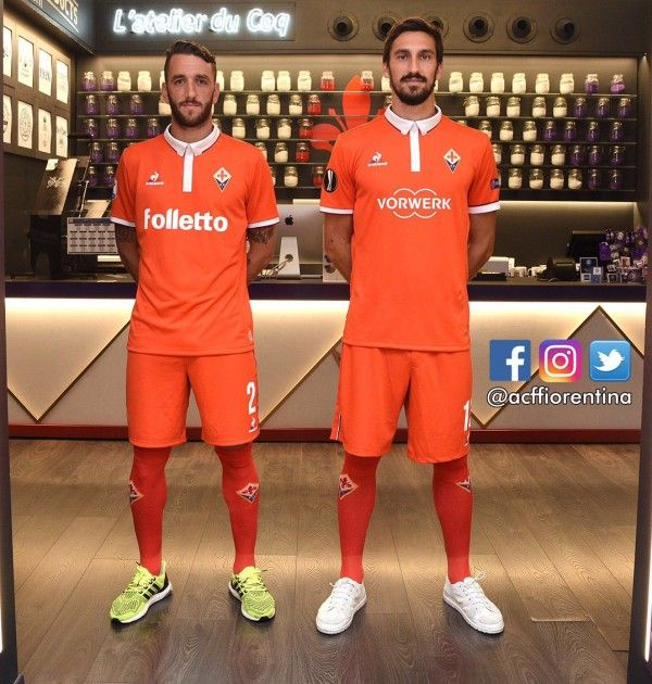 Nova camisa III da Fiorentina