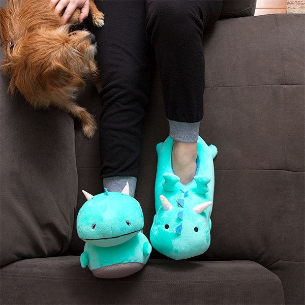 And dragon-shaped slippers that light up whenever you take a step. | Amazing Gifts Anyone Who's Always Cold Would Love To Receive
