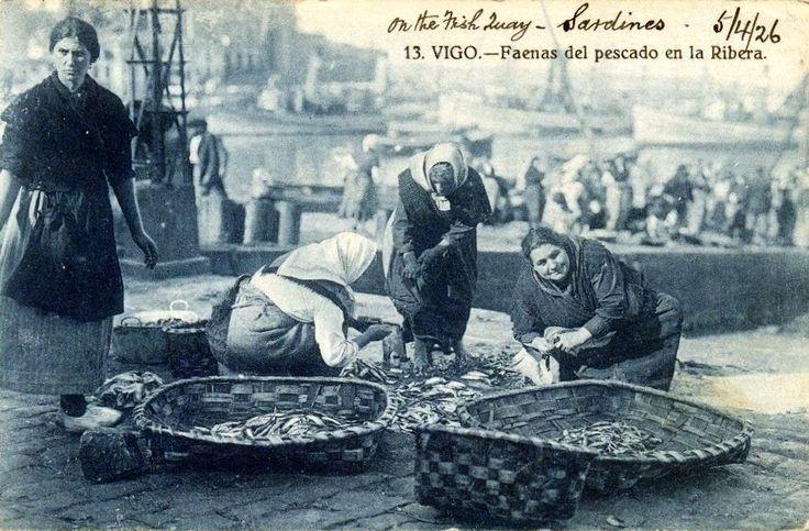 Peixeiras no Berbés