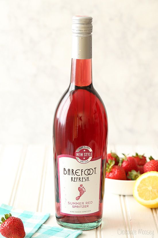 barefoot refresh summer red spritzer - Best Red Wine