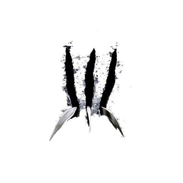 Psd Detail Wolverine Claws Slicing Official Psds Liked On Polyvore Wolverine Claws Wolverine Tattoo Marvel Tattoos
