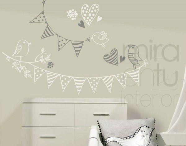 M s de 17 im genes excelentes sobre decoraciones - Habitaciones infantiles unisex ...