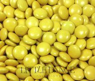 Yellow Chocolate Beans (similar to Smarties & M&Ms)