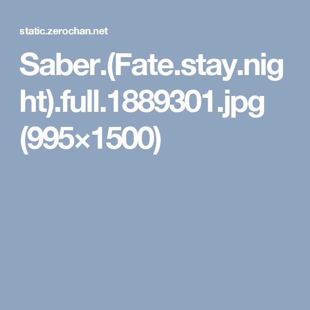 Saber.(Fate.stay.night).full.1889301.jpg (995×1500)
