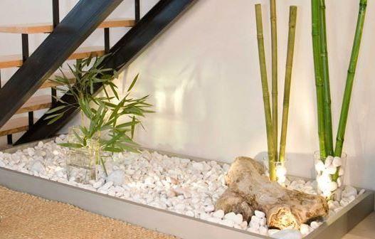 decoracion bajo escaleras  Buscar con Google  jardines exteriores