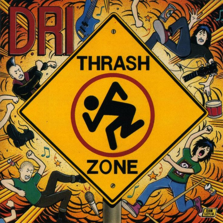 DRI ~ Thrash Zone....Great Crossover Thrash
